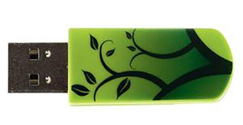 Флеш-память USB Verbatim 8GB Mini Elements Edition Earth [98160]