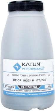 Тонер KATUN HP CP  1025/M 175/275 Black,  (фл.30г.)