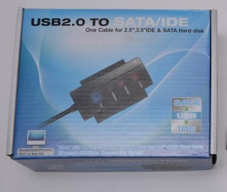 Конвертер - USB->SATA, IDE Atcom PAta -Sata Box [AT11205]