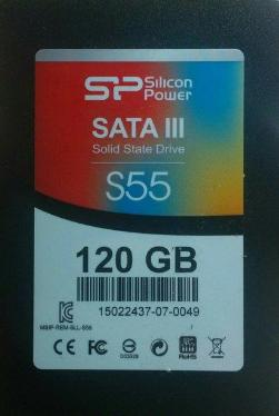 Накопители SSD Silicon Power 120GB S55 [SP120GBSS3S55S25]