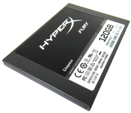 Накопители SSD KINGSTON 120GB HyperX FURY [SHFS37A/120G]