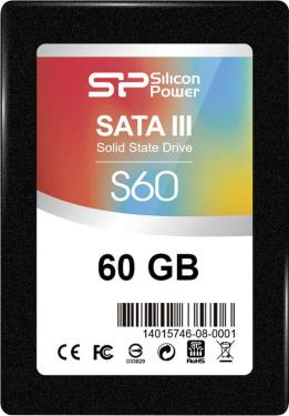 Накопители SSD Silicon Power 60GB S60 [SP060GBSS3S60S25]