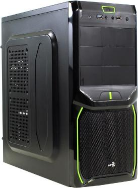 Корпус Aerocool V3X 600W Advance Evil Green Edition