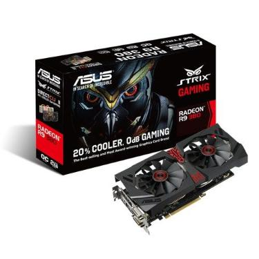 Видеоадаптер PCI-E ASUS STRIX-R9380-DC2OC-2GD5-GAMING