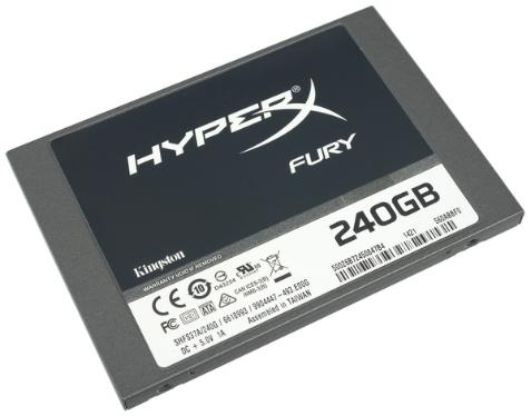 Накопители SSD KINGSTON 240GB HyperX Fury [SHFS37A/240G]