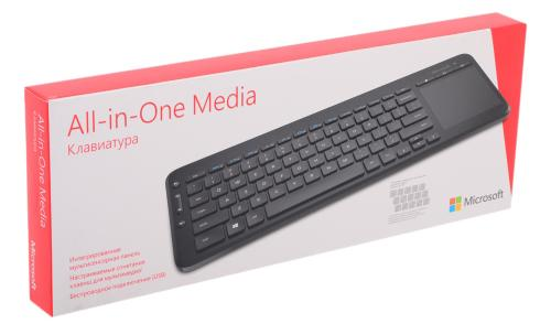 Клавиатура Microsoft ALL-IN-1 MEDIA [N9Z-00018]