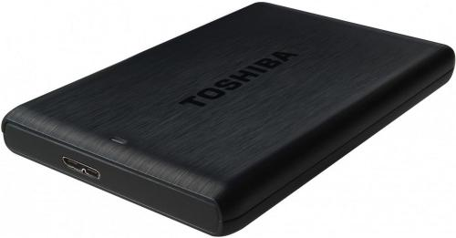 Жесткий диск внешний 2,5' TOSHIBA 500GB Stor.E Plus Black [HDTP105EK3AA]
