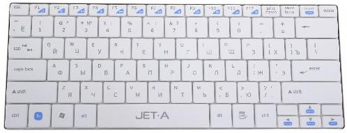 Клавиатура Jet.A SlimLine K7 W White Wireless