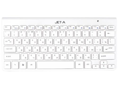 Клавиатура Jet.A SlimLine K9 W White Wireless