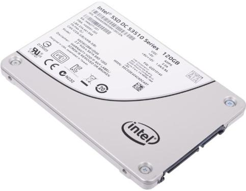 Накопители SSD Intel 120GB S3510 Series [SSDSC2BB120G601]