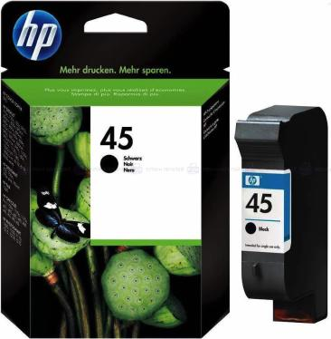 Картридж HP ink №45 Black [51645AE]