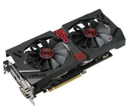 Видеоадаптер PCI-E ASUS STRIX-R9380-DC2OC-4GD5-GAMING