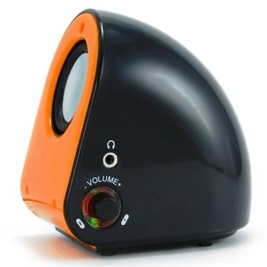 Колонки Konoos KNS-PU50-R Black-Orange