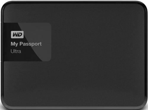 Жесткий диск внешний 2,5' Western Digital 500GB My Passport Ultra Black [WDBBRL5000ABK-EEUE]