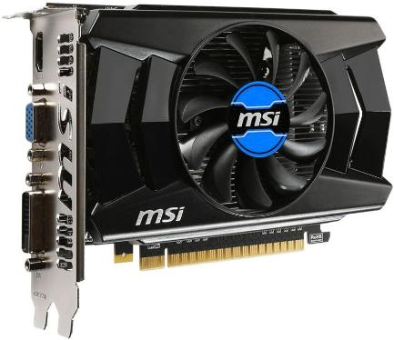 Видеоадаптер PCI-E MSI N740-2GD5