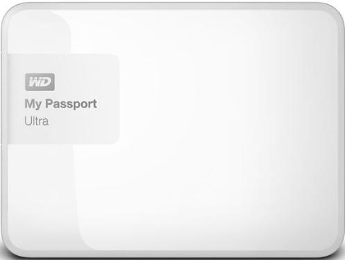 Жесткий диск внешний 2,5' Western Digital 2TB My Passport Ultra White [WDBNFV0020BWT-EEUE]