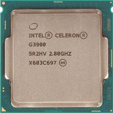 Процессор Intel Celeron Dual-Core G3900 Tray [CM8066201928610]