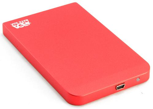 "Карман внешний USB для SSD/HDD 2,5"" AGESTAR SUB2O1 Red"