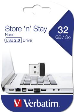 Флеш-память USB Verbatim 32GB Store N Stay Nano [98130]