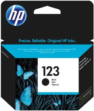 Картридж HP ink №123 Black [F6V17AE]