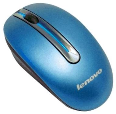 Мышь LENOVO N3903 Coral-Blue Wireless [888013578]