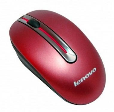 Мышь LENOVO N3903 Red Wireless [888013581]