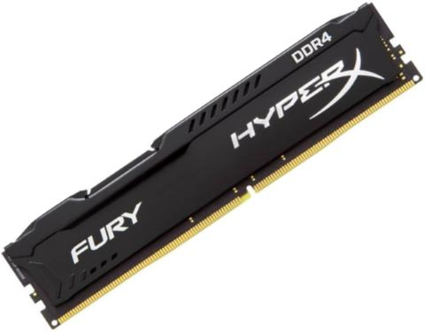 Память для настольных ПК DDR4 KINGSTON 4GB DDR4-2133MHz HyperX Fury Black [HX421C14FB/4]