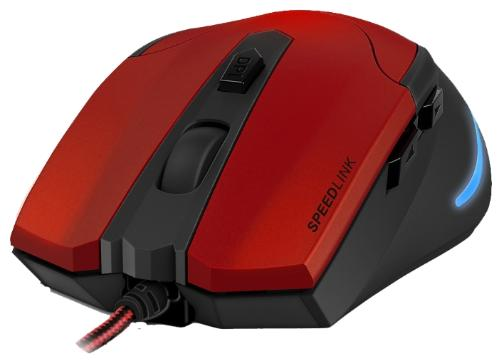 Мышь Speedlink Aklys Black-Red USB [SL-680001-BKRD]