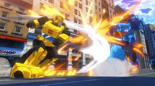 Игра для консоли Sony PS4 Transformers: Devastation