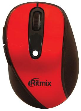 Мышь Ritmix RMW-220 Red Wireless