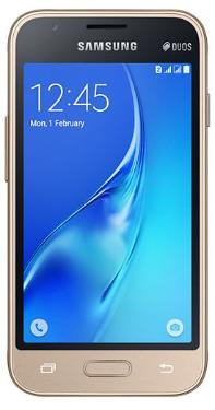 Смартфон Samsung SM-J105 Galaxy J1 mini 8Gb Gold [SM-J105HZDDSER]