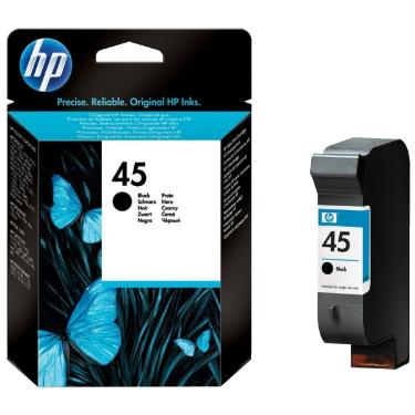 Картридж HP ink №45 Black [51645GE]
