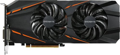 Видеоадаптер PCI-E Gigabyte GV-N1060G1 GAMING-6GD