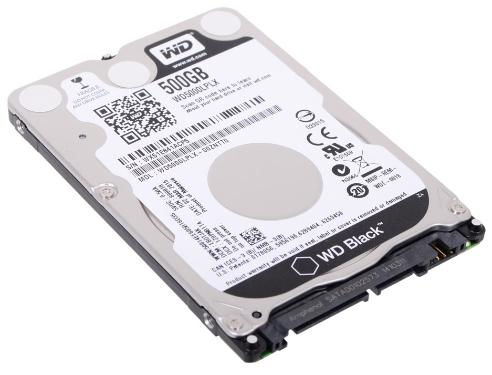 Жесткий диск 2,5' Western Digital 500GB Black [WD5000LPLX]