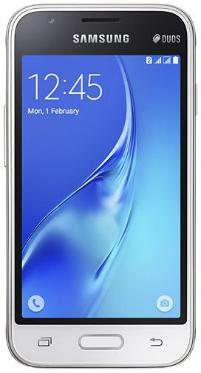 Смартфон Samsung SM-J105 Galaxy J1 mini 8Gb White [SM-J105HZWDSER]