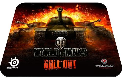 Коврик SteelSeries SS QCK World of Tanks Black [PN67269]