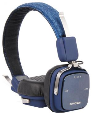 Гарнитура Crown CMBH-9301 Bluetooth Blue Jeans