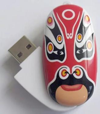 Флеш-память USB SoGood 8GB Chinese Mask Red [SG8GB-ChinMask-R]