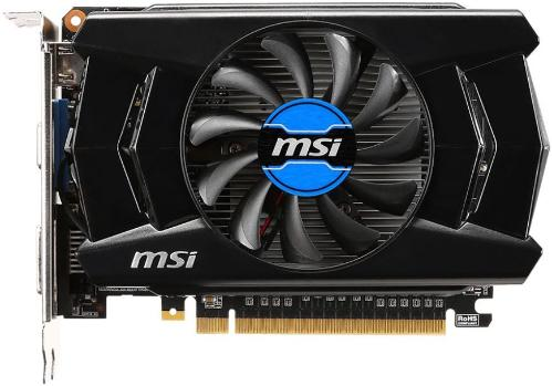 Видеоадаптер PCI-E MSI N750TI-2GD5/OCV1