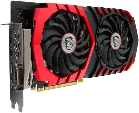 Видеоадаптер PCI-E MSI GTX 1060 GAMING 3G