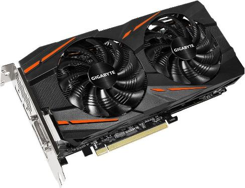 Видеоадаптер PCI-E Gigabyte GV-RX480G1 GAMING-4GD