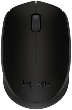 Мышь Logitech B170 Black Wireless [910-004798]