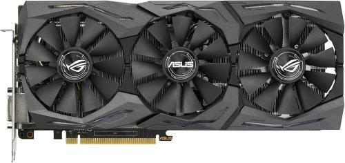 Видеоадаптер PCI-E ASUS STRIX-RX480-8G-GAMING