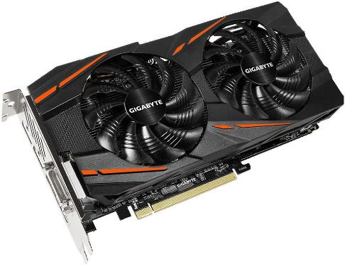 Видеоадаптер PCI-E Gigabyte GV-RX470G1 GAMING-4GD