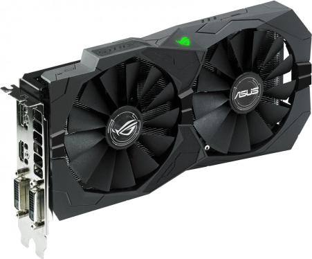 Видеоадаптер PCI-E ASUS STRIX-RX470-O8G-GAMING