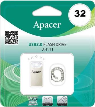 Флеш-память USB APACER 32GB AH111 Crystal [AP32GAH111CR-1]