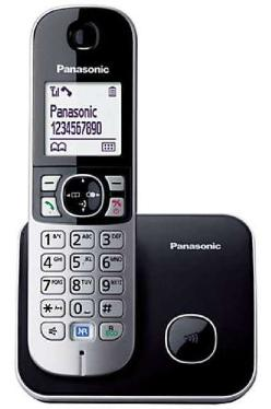 Телефон Panasonic KX-TG6811RUB чёрный