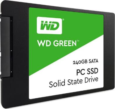 Накопители SSD Western Digital 240GB Green Client [WDS240G1G0A]