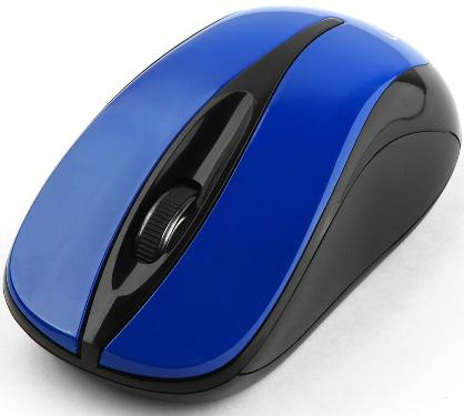 Мышь GEMBIRD MUSW-325-B Blue Wireless