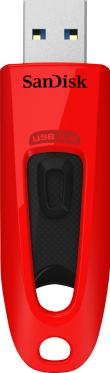 Флеш-память USB SanDisk 32GB CZ48R Ultra Red [SDCZ48-032G-U46R]
